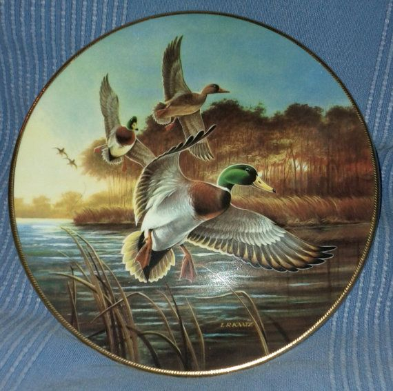 Ducks Unlimited Home Decor: Vintage 1988 Ducks Unlimited Collector By