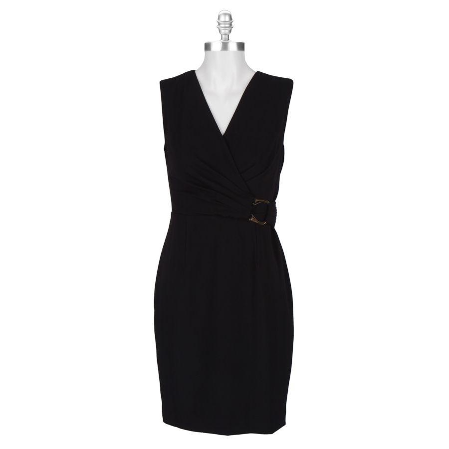 Calvin Klein Sheath Dress With Surplice Neckline Vonmaur Fashion Dresses For Work Dresses [ 900 x 900 Pixel ]