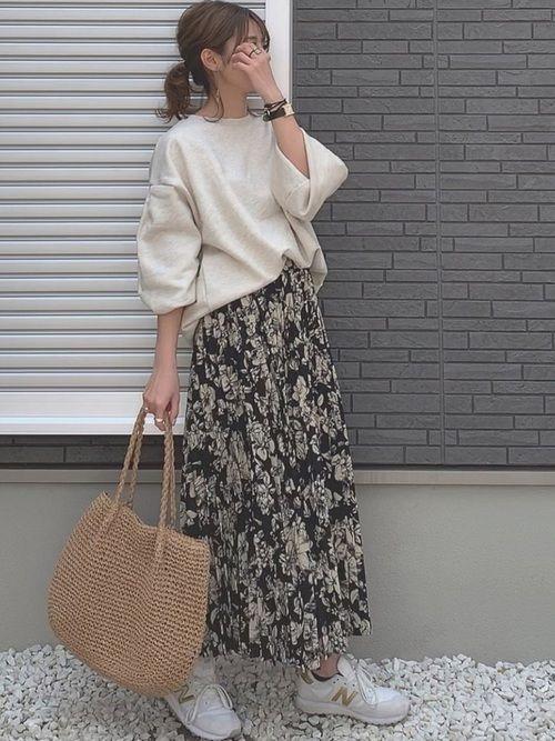 【2019春夏コーデ】トレンドを取り入れた大人女子の最新ファッション50選!   folk