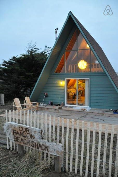 Admirable Check Out This Awesome Listing On Airbnb Bandon Beach Shack Download Free Architecture Designs Scobabritishbridgeorg