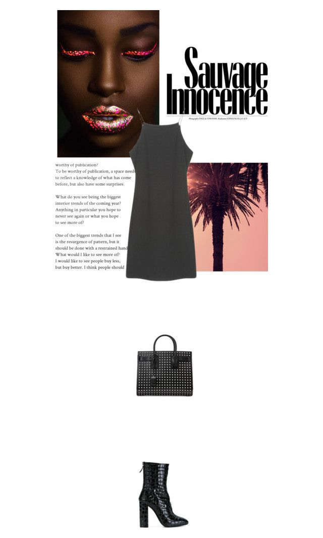 """""""Run into the light"""" by janchy1 ❤ liked on Polyvore featuring Yves Saint Laurent and N°21"""