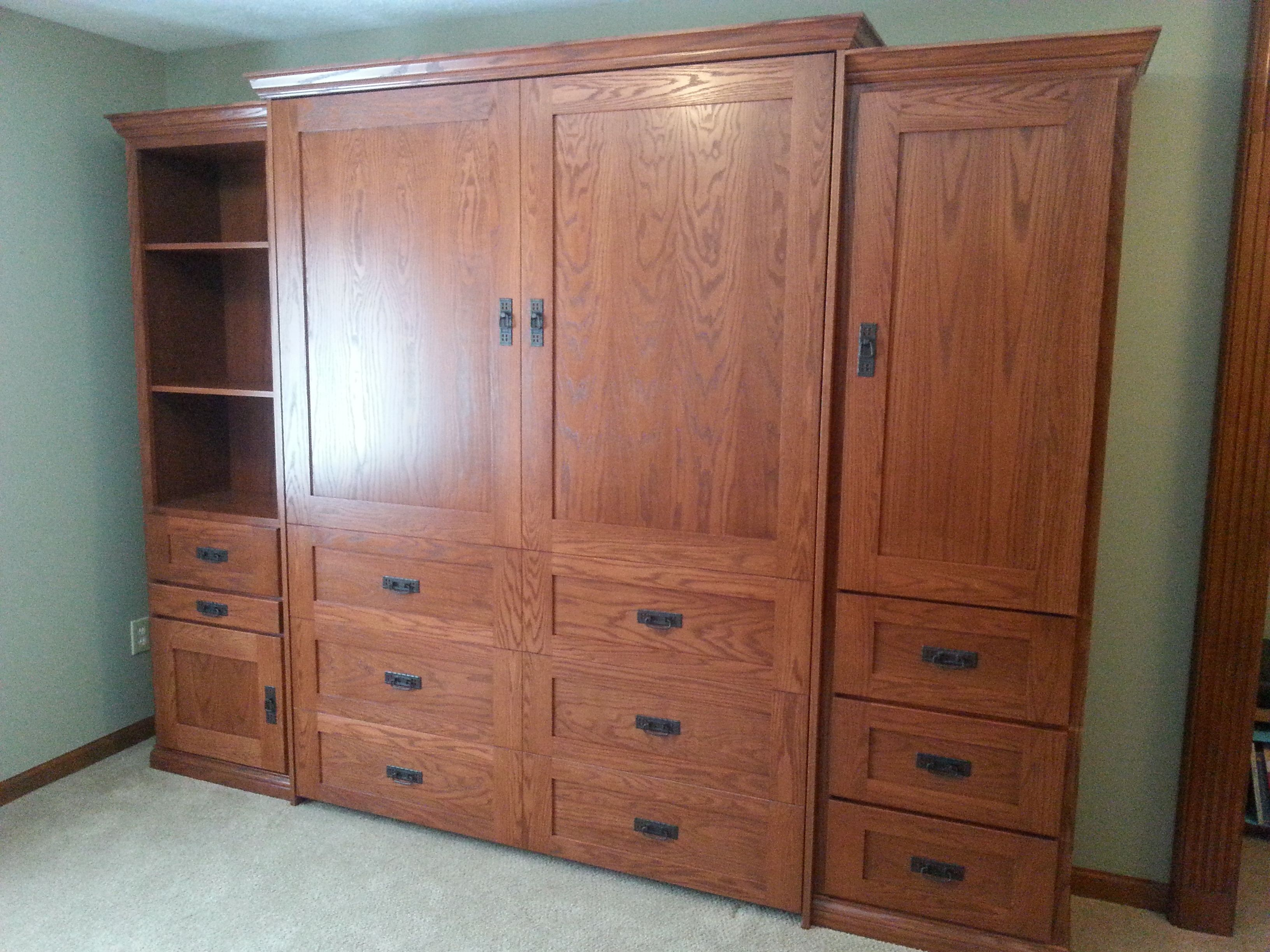 Our Customer Chose The Bedderway Horizontal Queen Dresser Cabinet Face