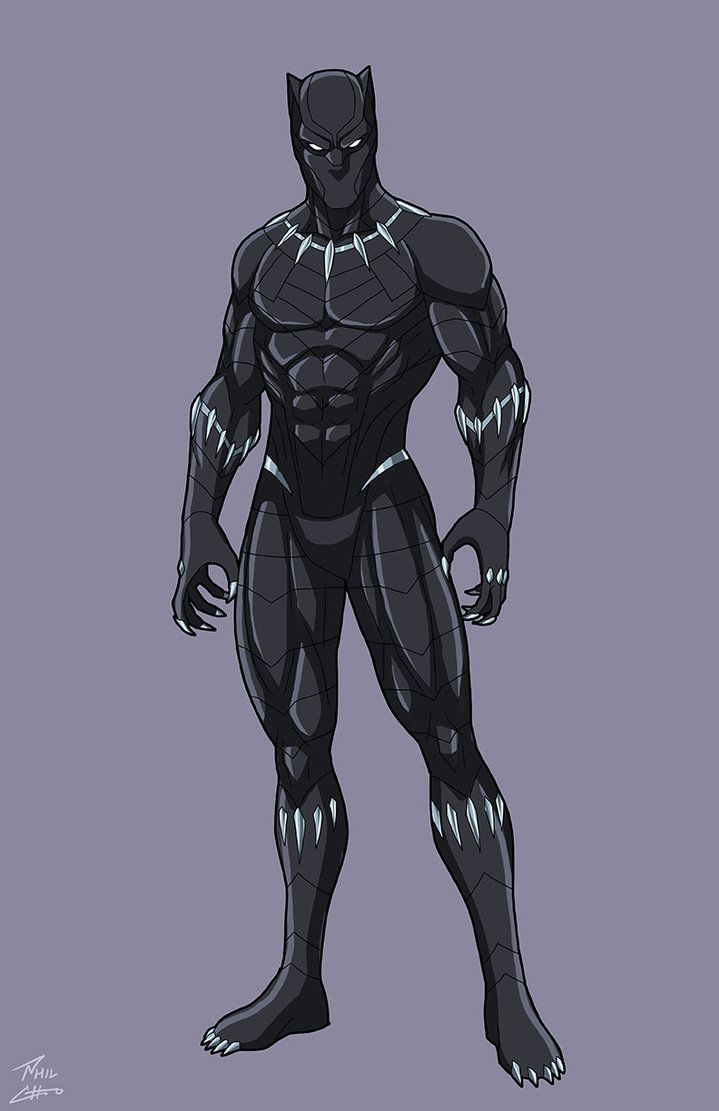 Black Panther by phil-cho on DeviantArt | Black panther ...