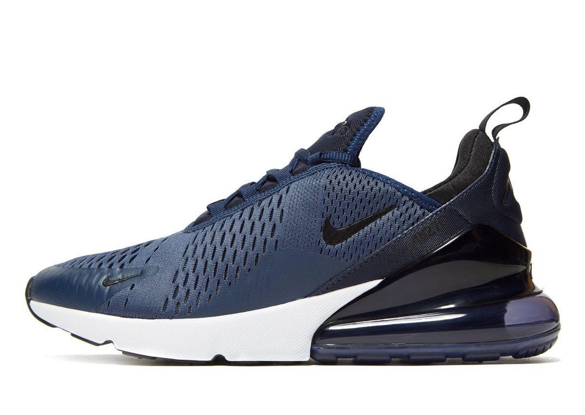 Nike Air Max 270 Drops In Navy For Jd Sports Eu Kicks Sneaker Magazine Sneakers Men Fashion Nike Air Max Sneakers