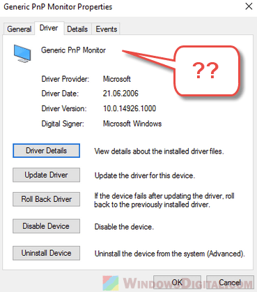 download driver for monitor
