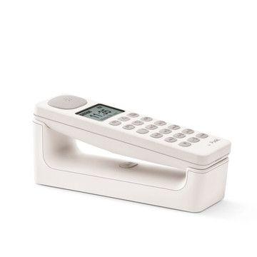 Punkt.: Telefon DECT Weiß EU