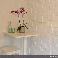 De nieuwste trend: WallArt 3D-design op de wand. #3D #Wallpaper.