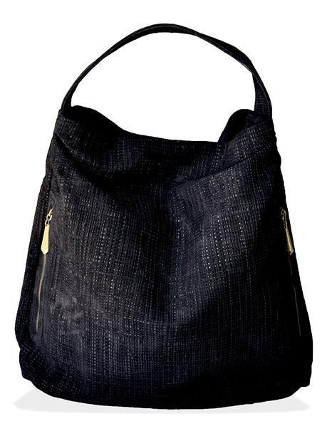 Bryna - Serrano Woven Leather Hobo