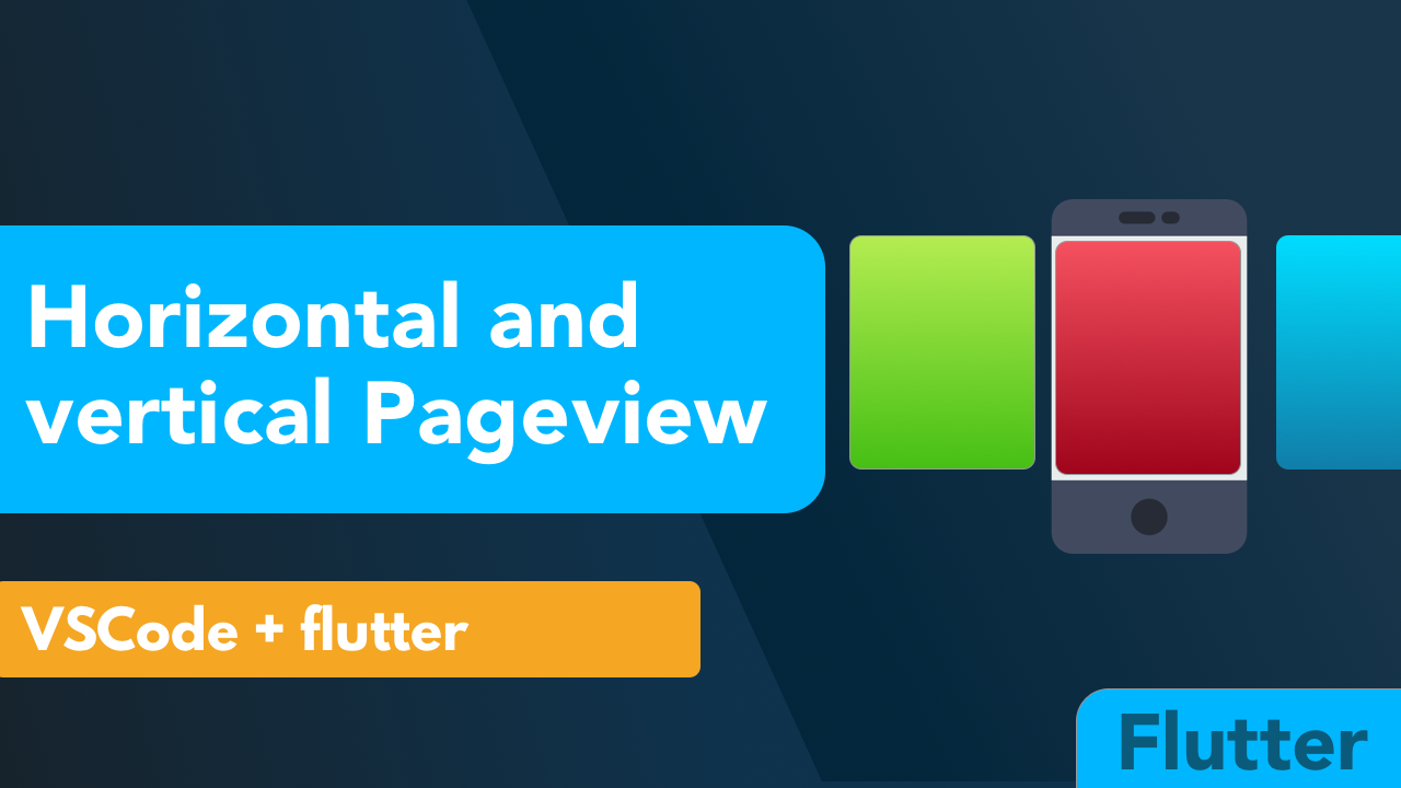 Flutter Pageview Tutorial