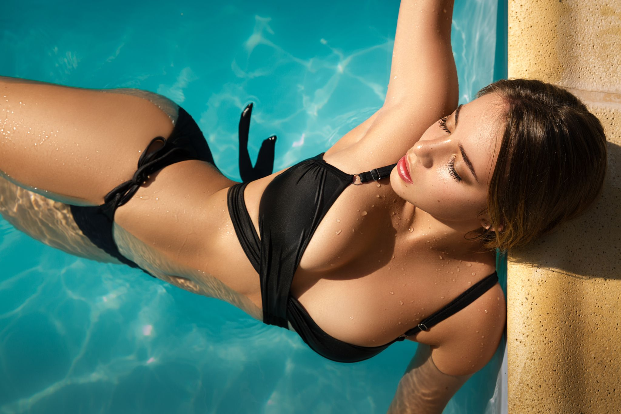 Girls women custom sexy swimwear one piece swimsuit bathing suit swim wear