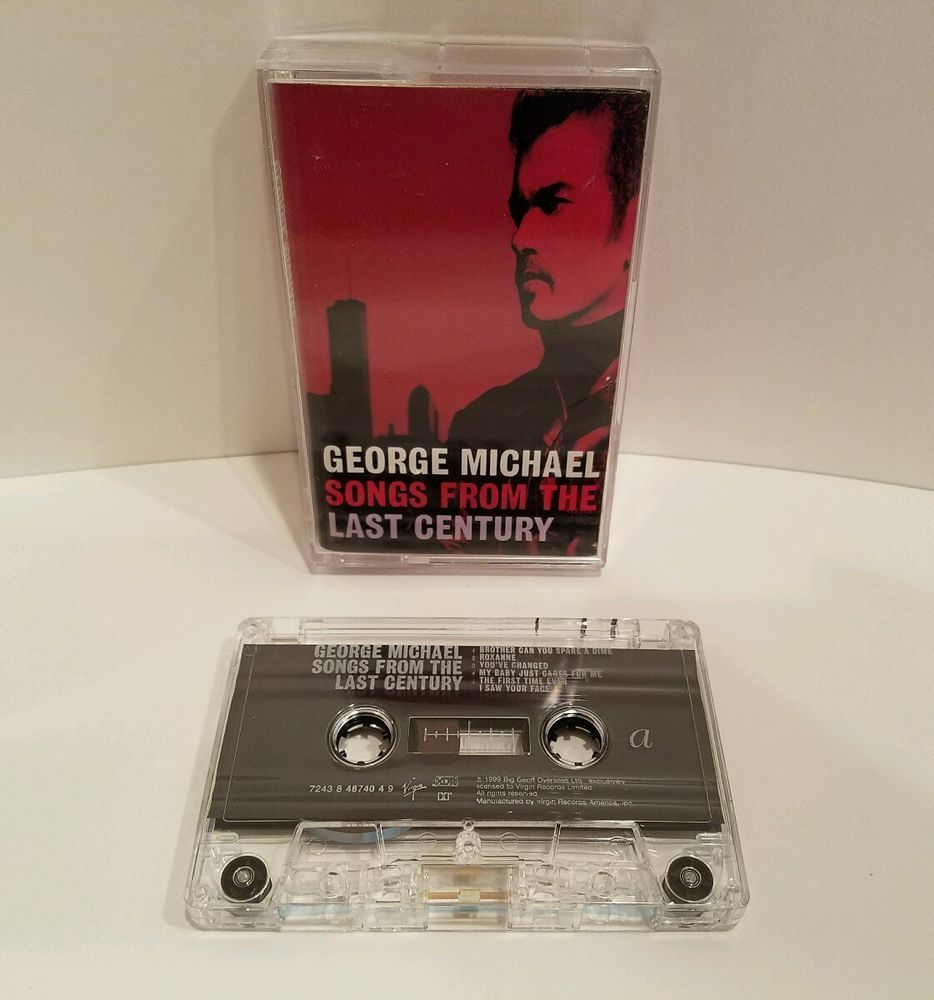 George Michael Songs From The Last Century Cassette Tape 1999 Virgin Records #Standards