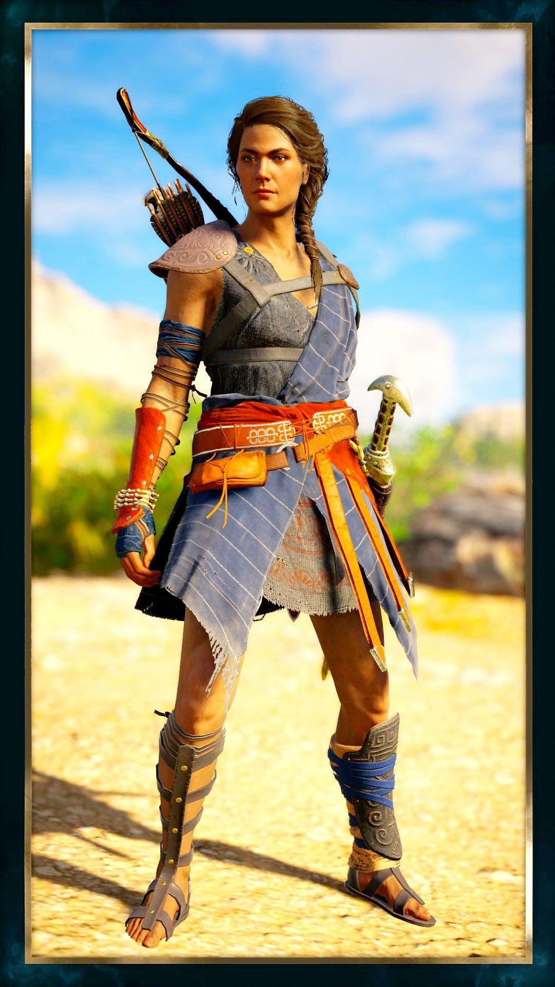 Isu Lines on Kassandra Mod - Assassins Creed Odyssey