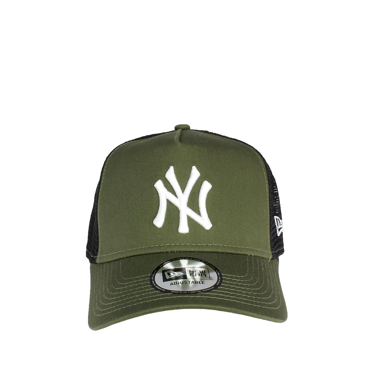 72fc2d4f369 New Era NY Yankees Essential A Frame Trucker χακί.  sneakerstown  newera   neweracap  trucker  cap  nyyankees  yankees  men  mens  mensfashion  women   womens ...