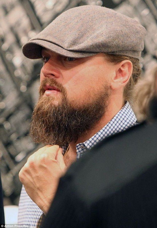 fcecef5fcd1 Leonardo DiCaprio shows off rugged look in first glimpse of The .