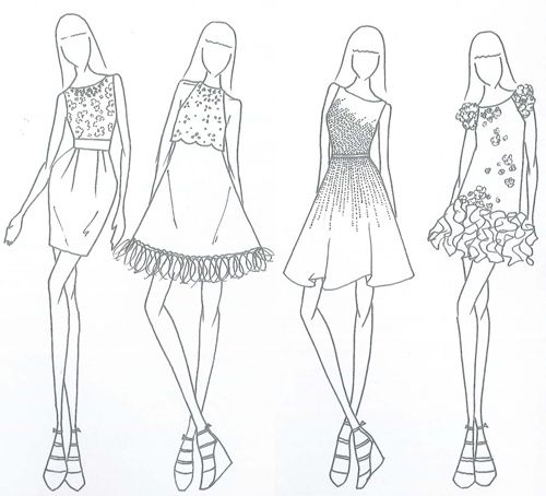 Outfit Sketches Designs Flagship