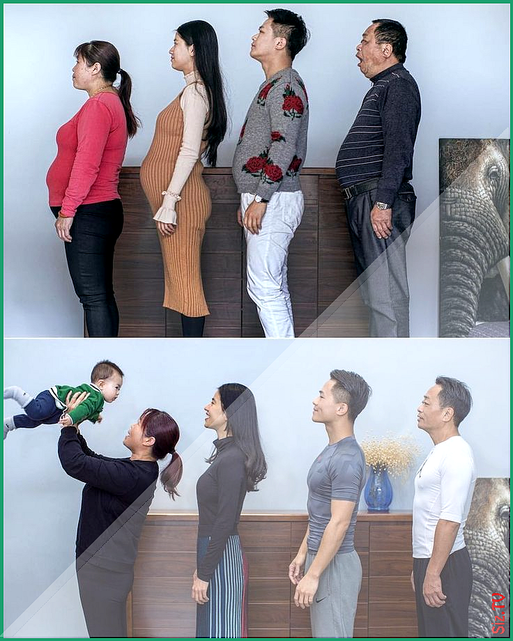 Chinese photographer Jesse Ding documented his family s weight loss journey  Chinese photographer Je...