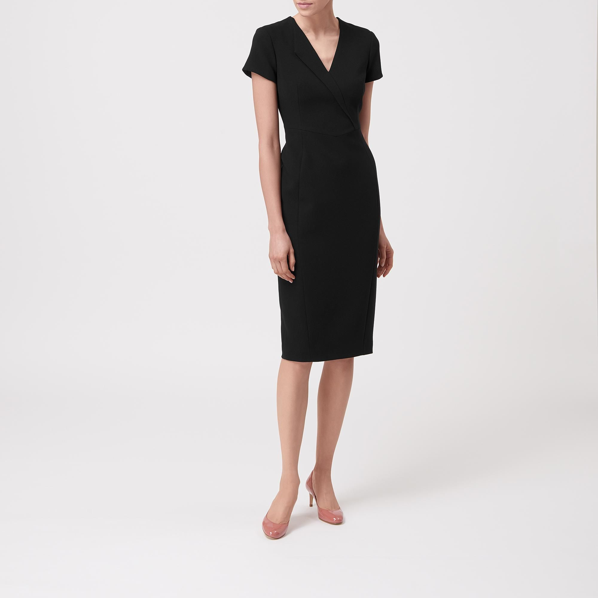 L k bennett london black dress