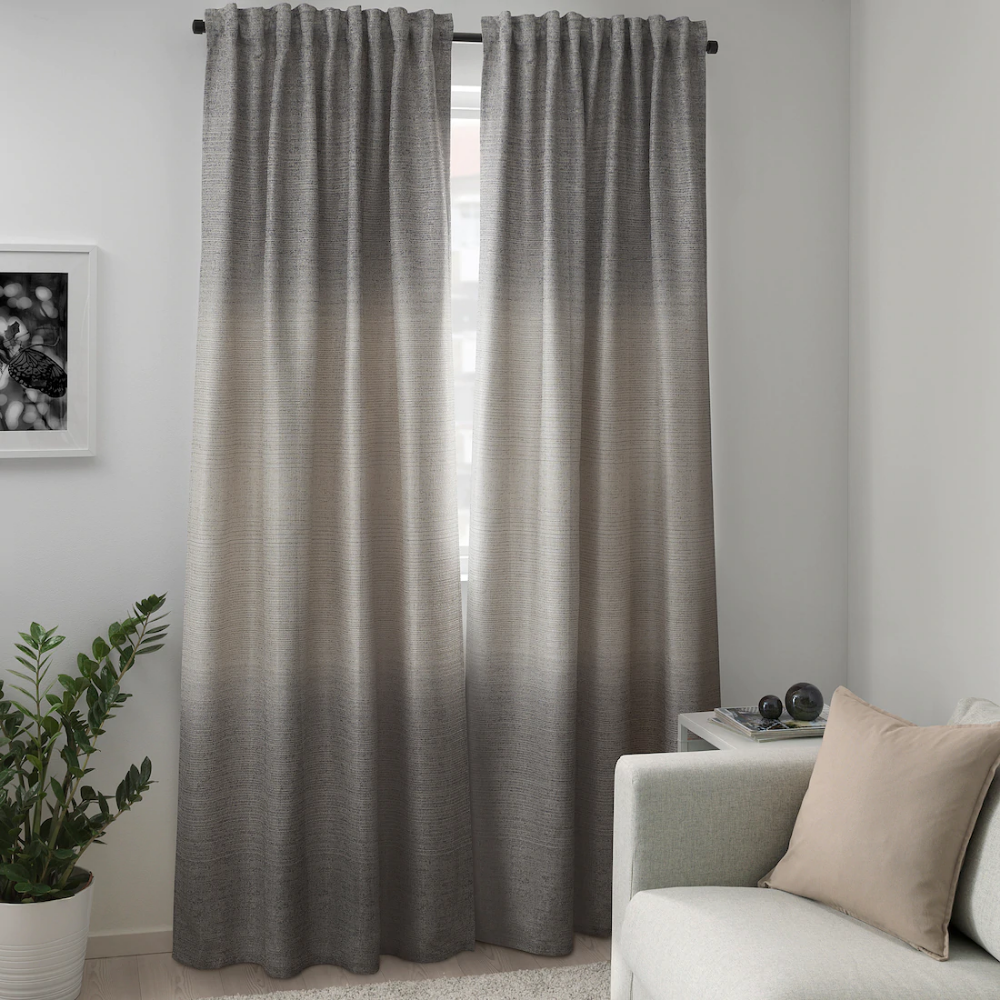 How To Triple Pinch Pleat Curtains With Ikea Hardware Pinch