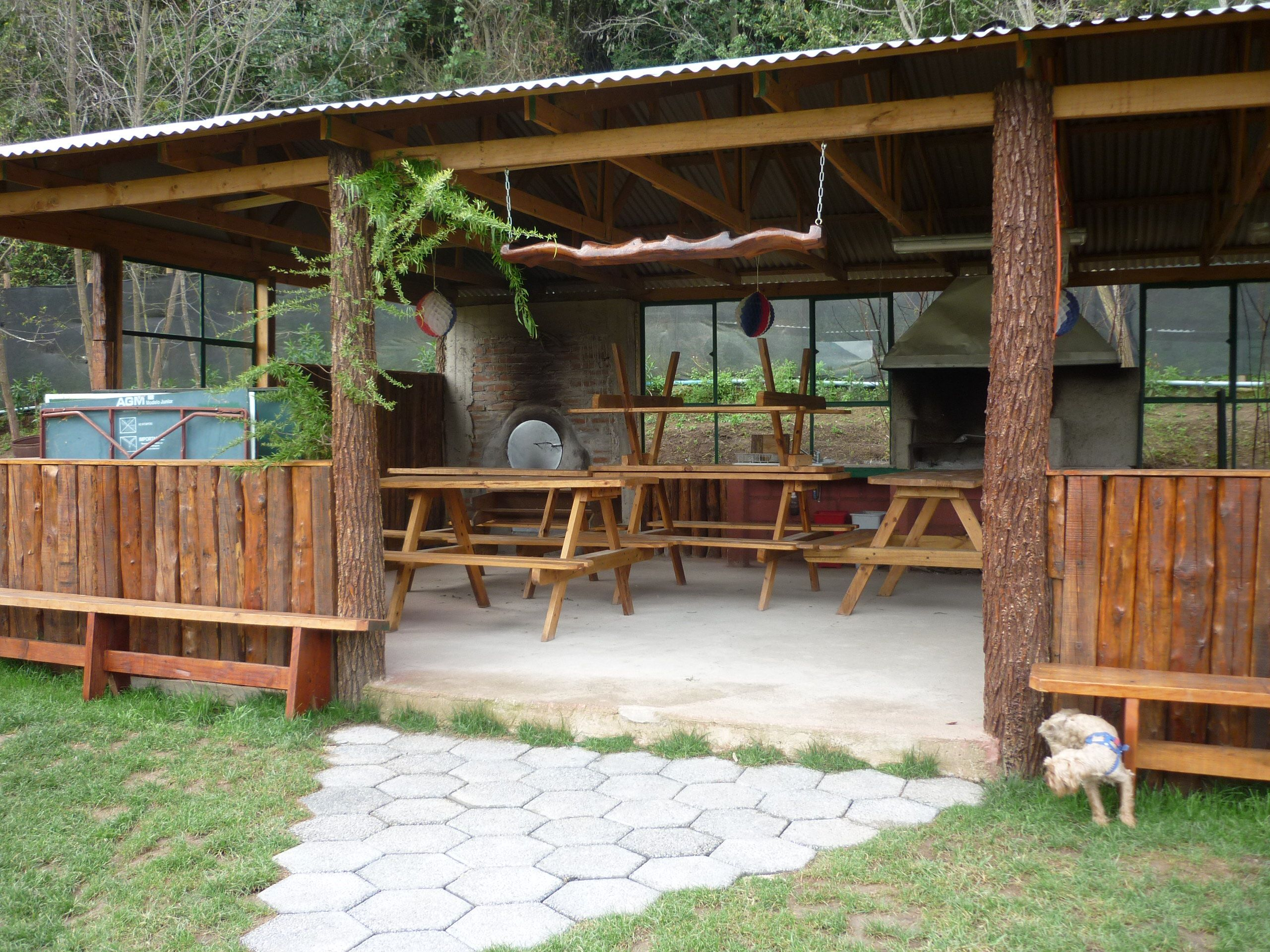 Resultado de imagen para dise os de quinchos rusticos for Casas de madera para patios