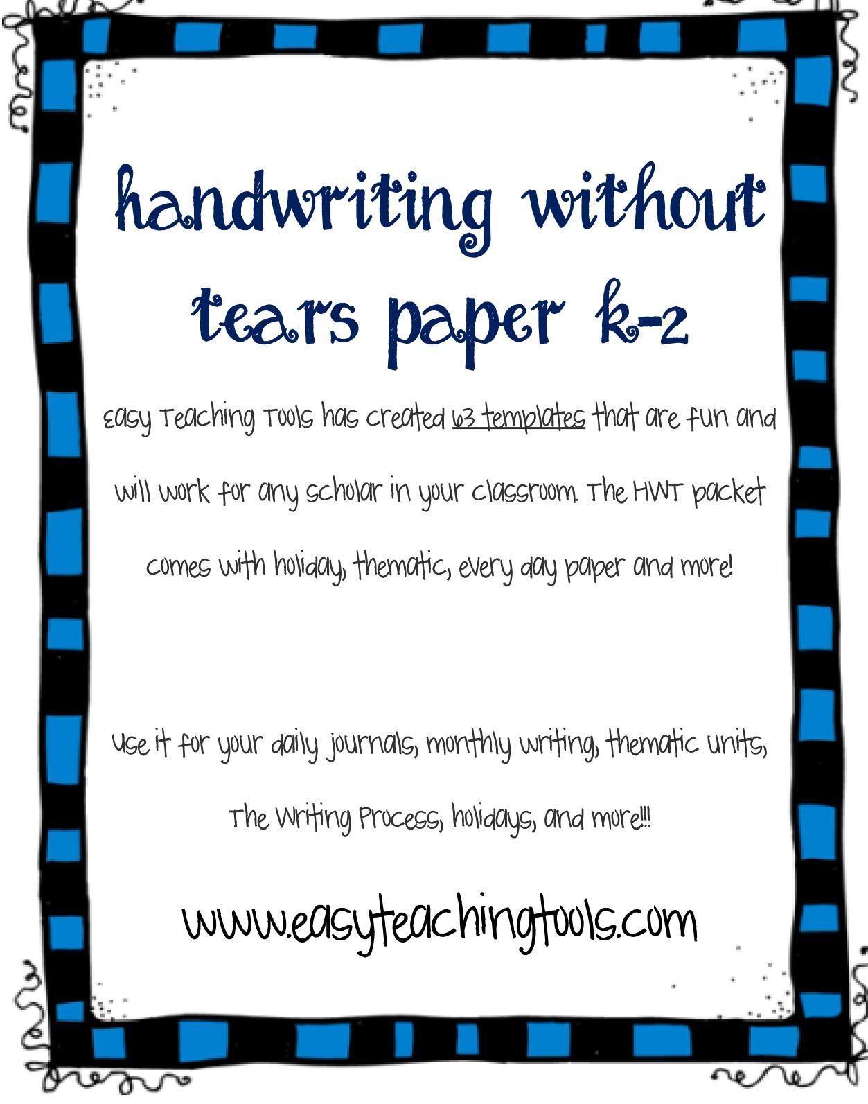 Pin By Happy Teacher On Handwriting Amp Ot Stuff