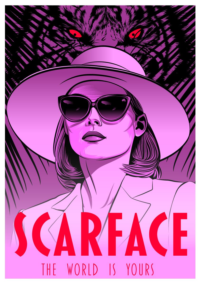 Scarface 1983 Hd Wallpaper From Gallsource Com Scarface Movie Scarface Poster Scarface