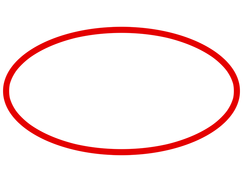 Oval Outline Circle Outline Outline Images Photoshop Tutorial