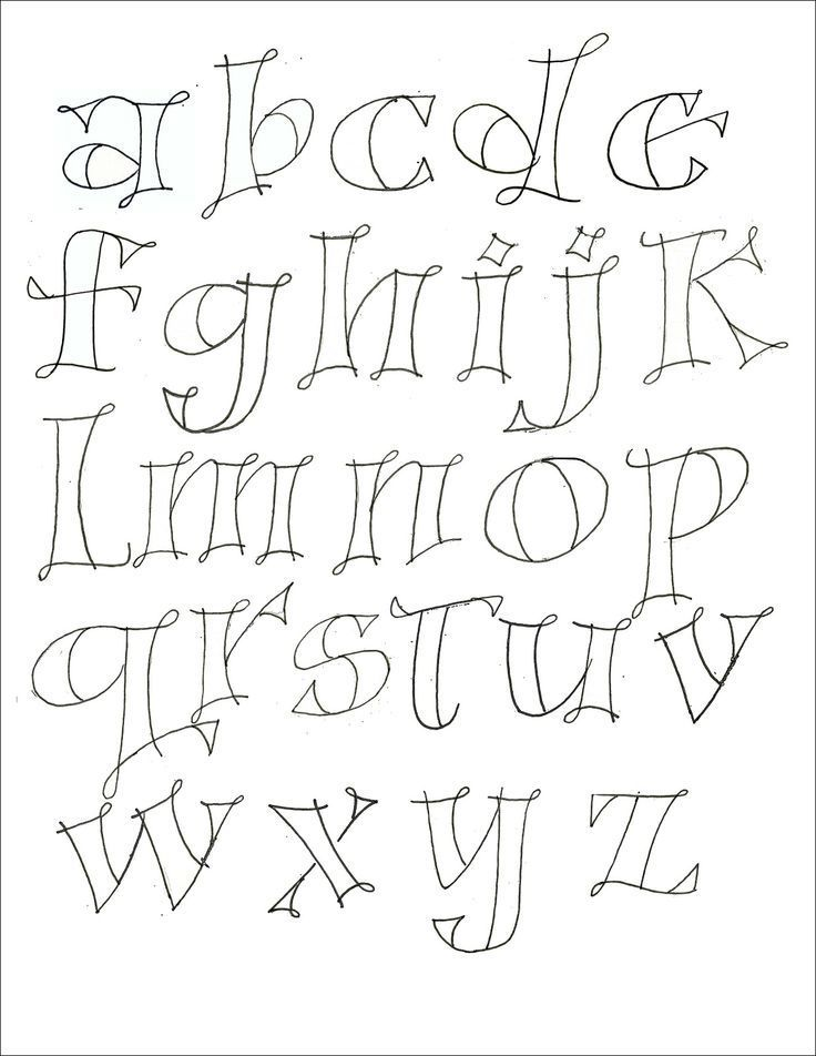 hand lettering for journaling - Google Search … | ABC