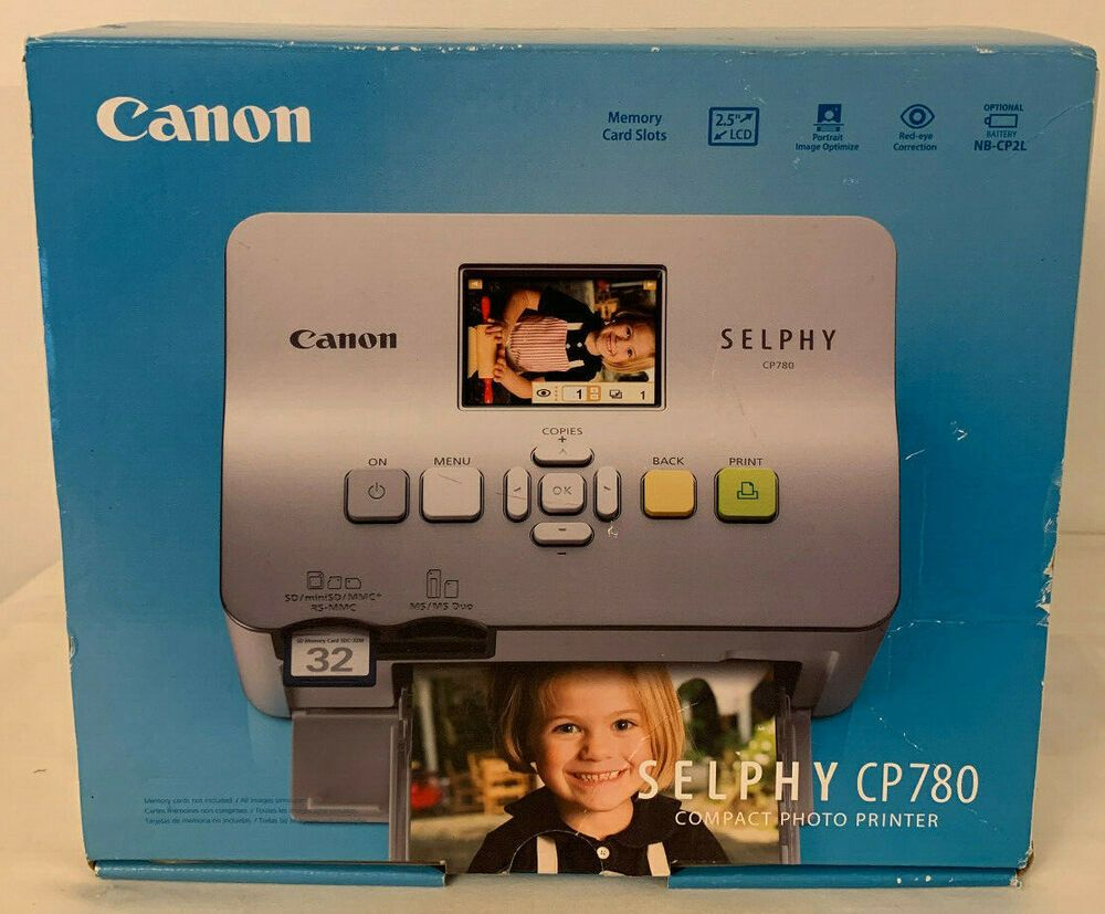 Canon SELPHY (CP780SLN) Compact Photo Printer, Color