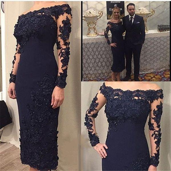 атласное синее платье футляр купить