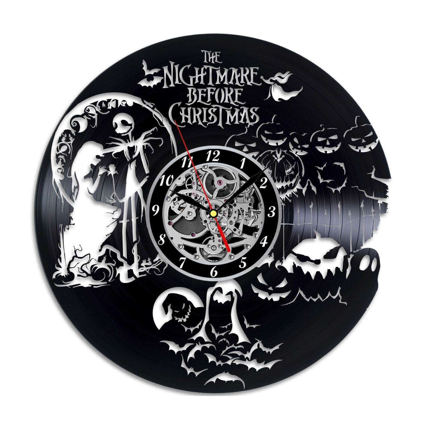 Nightmare Before Christmas Vinyl record clock Home design home decor ...