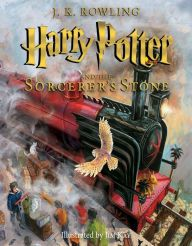 Harry potter illustrated book series