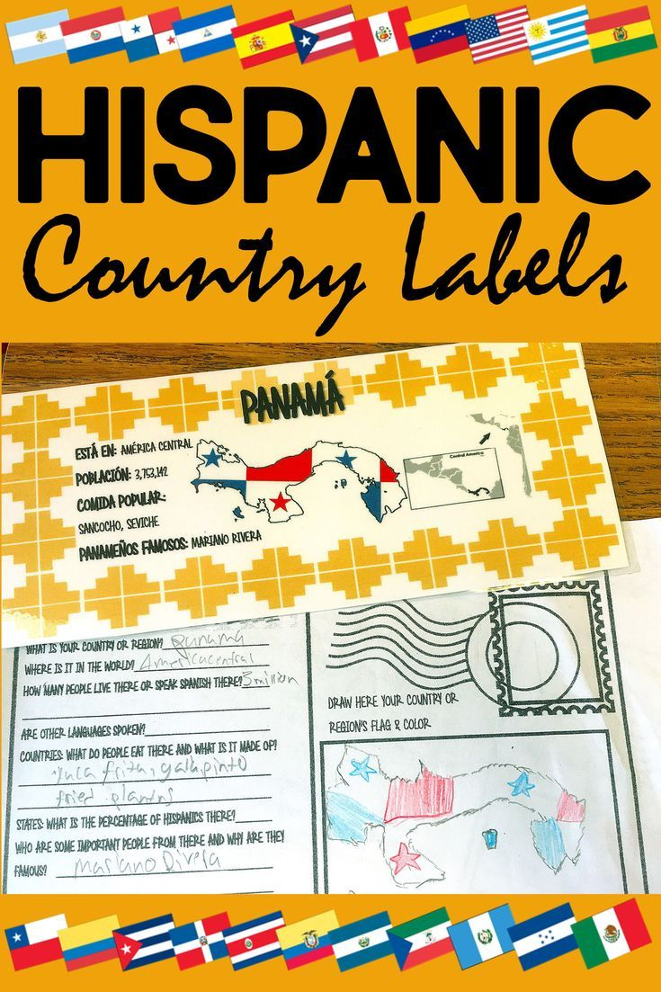 Spanish Speaking Countries Bulletin Board and Hispanic