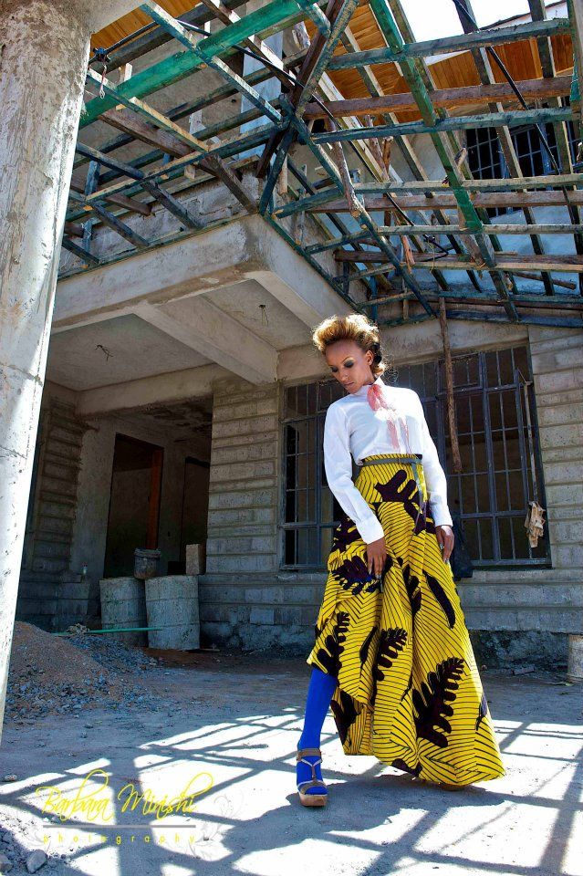 Barbara Minishi Photography African Fashion Fashion African Women