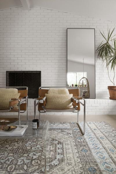 Loloi Tatum Tw 02 Stone Blue Area Rug In 2020 Interior Home
