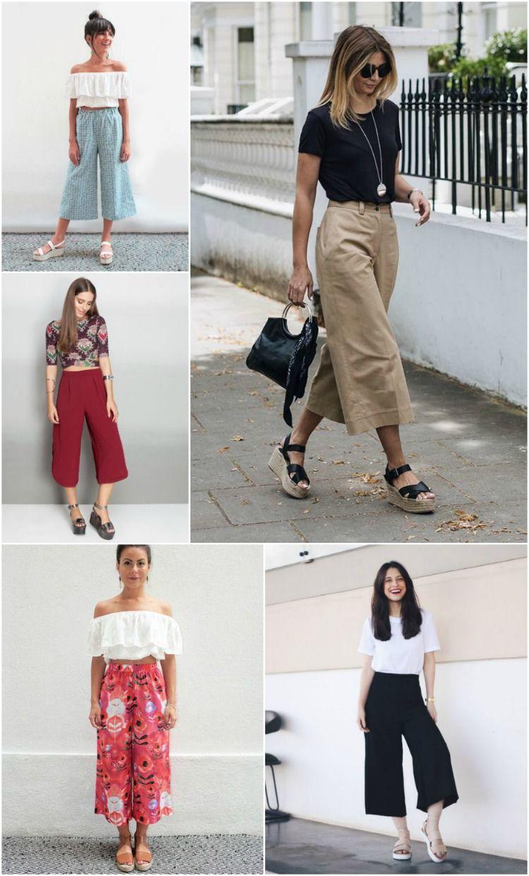 7493fe10e Roupas Confortáveis, Roupas Casuais, Roupas Bonitas, Sapatos, Look Com  Pantacourt, Looks