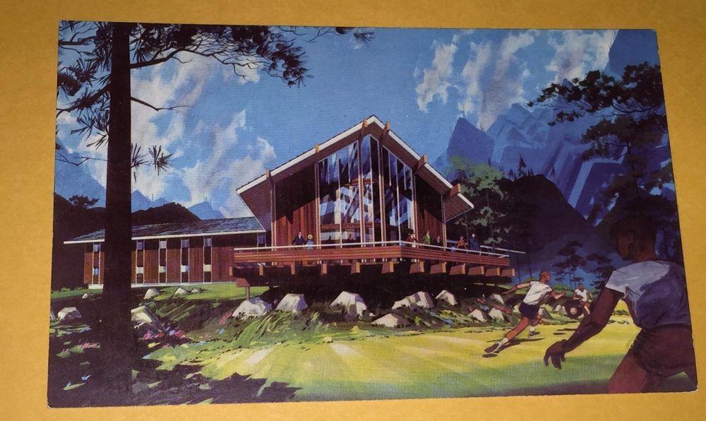 Pine Springs Ranch Youth Camp Postcard California San ...