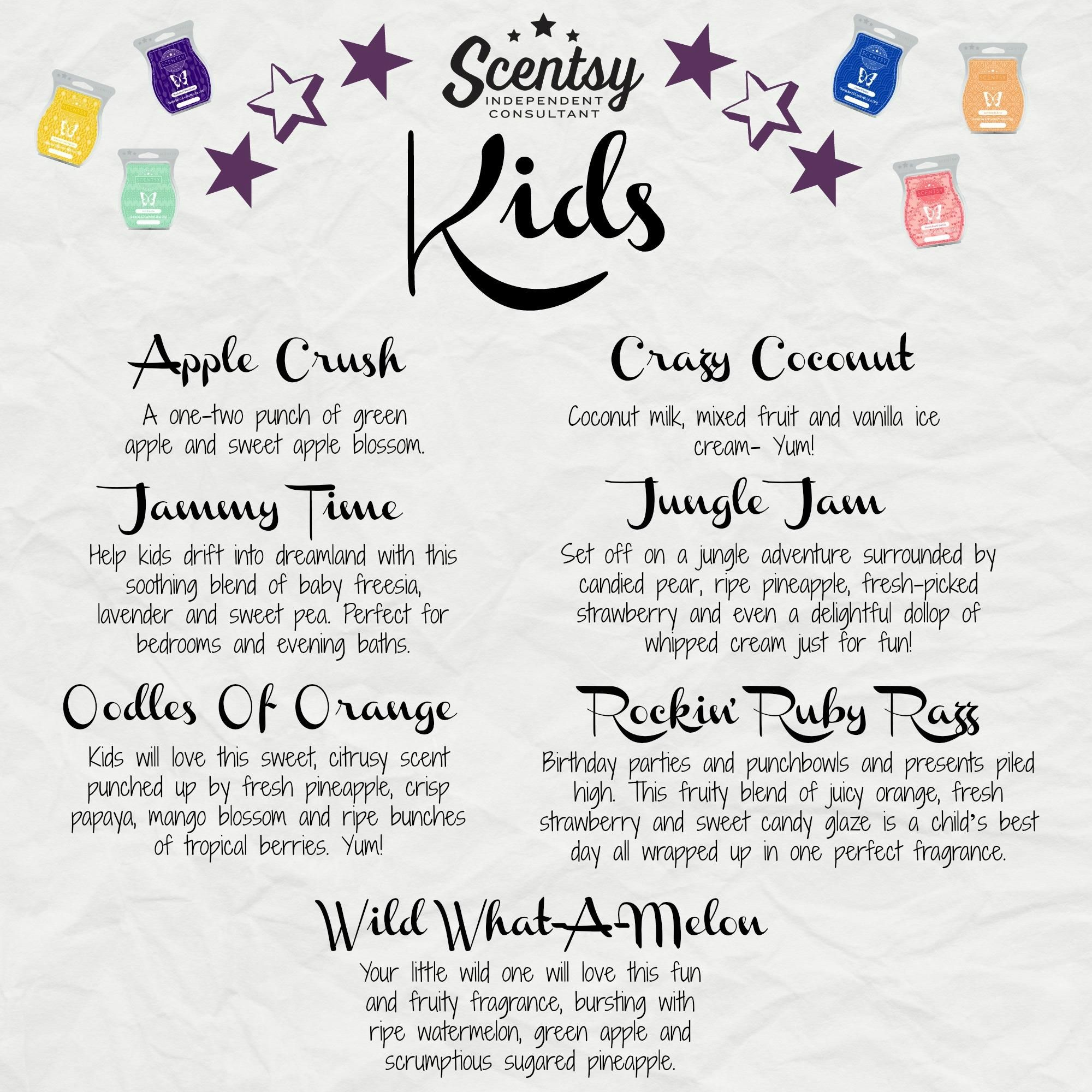 Check Out Scentsyu0027s Kid Friendly Scents Perfect For Any Childu0027s Bedroom,  Bathroom, Playroom