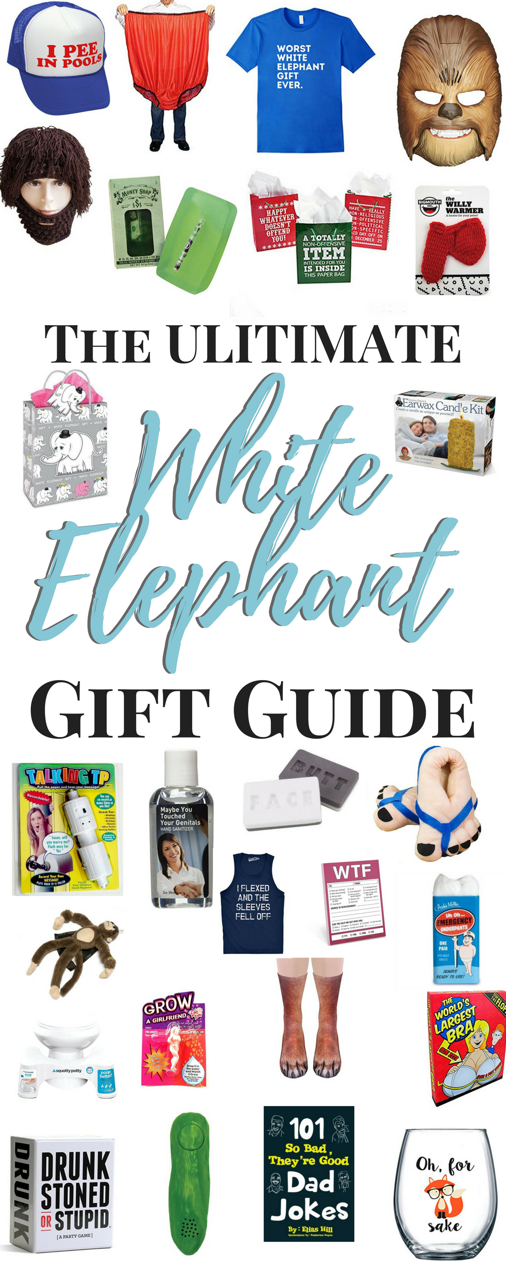 White Elephant Gift Ideas | White elephant gift