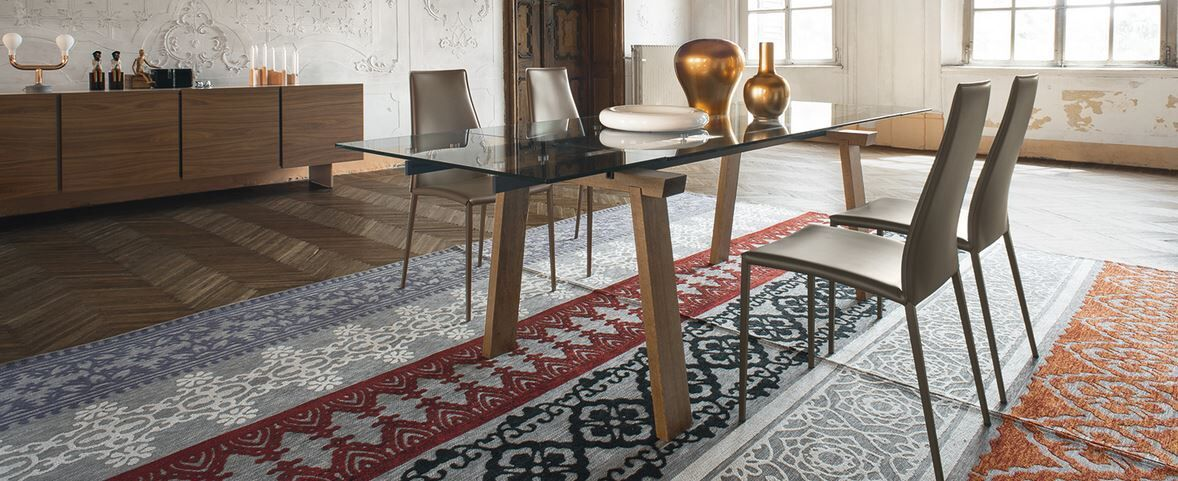 Dining Table And Dining Chairs By Calligaris At Hold It Home