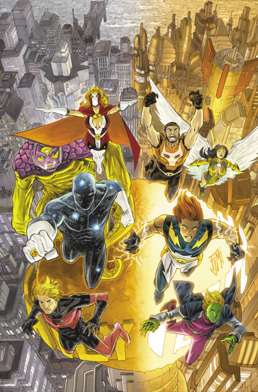 ✭ Legion of Super Heroes by Francis Manapul