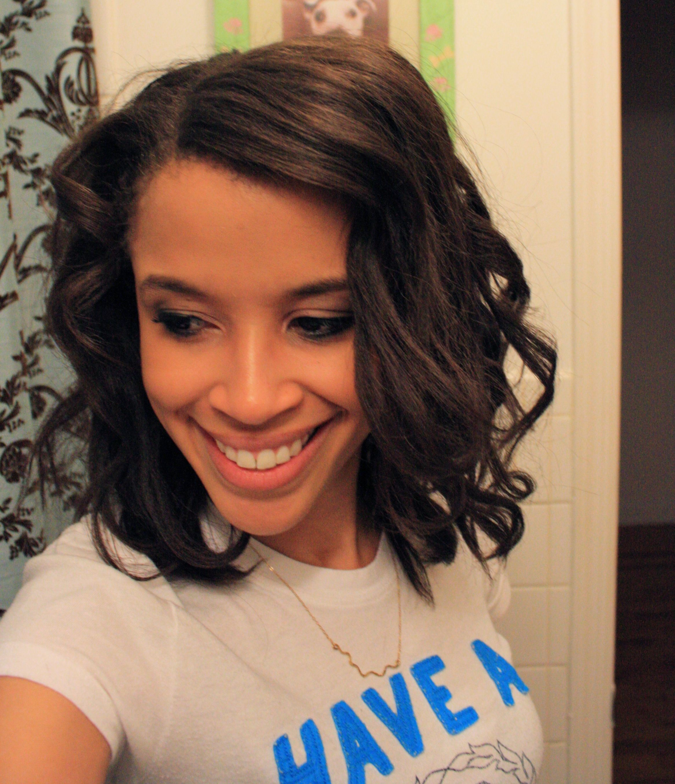 Great relaxed hair blog! I'm going to give this wavy hair ...