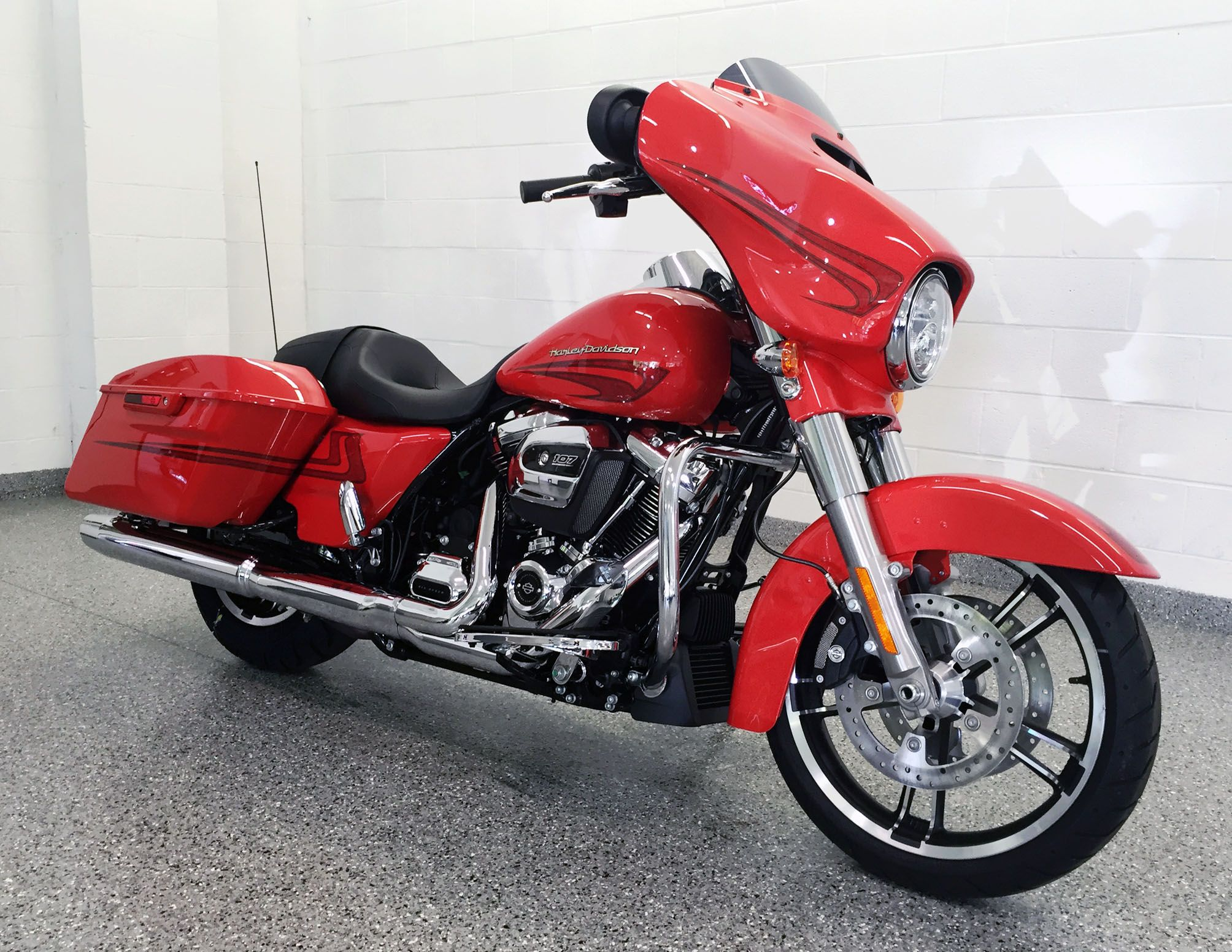 The all new 2017 street glide special featured in laguna orange street glide specialheartorangeharley davidson