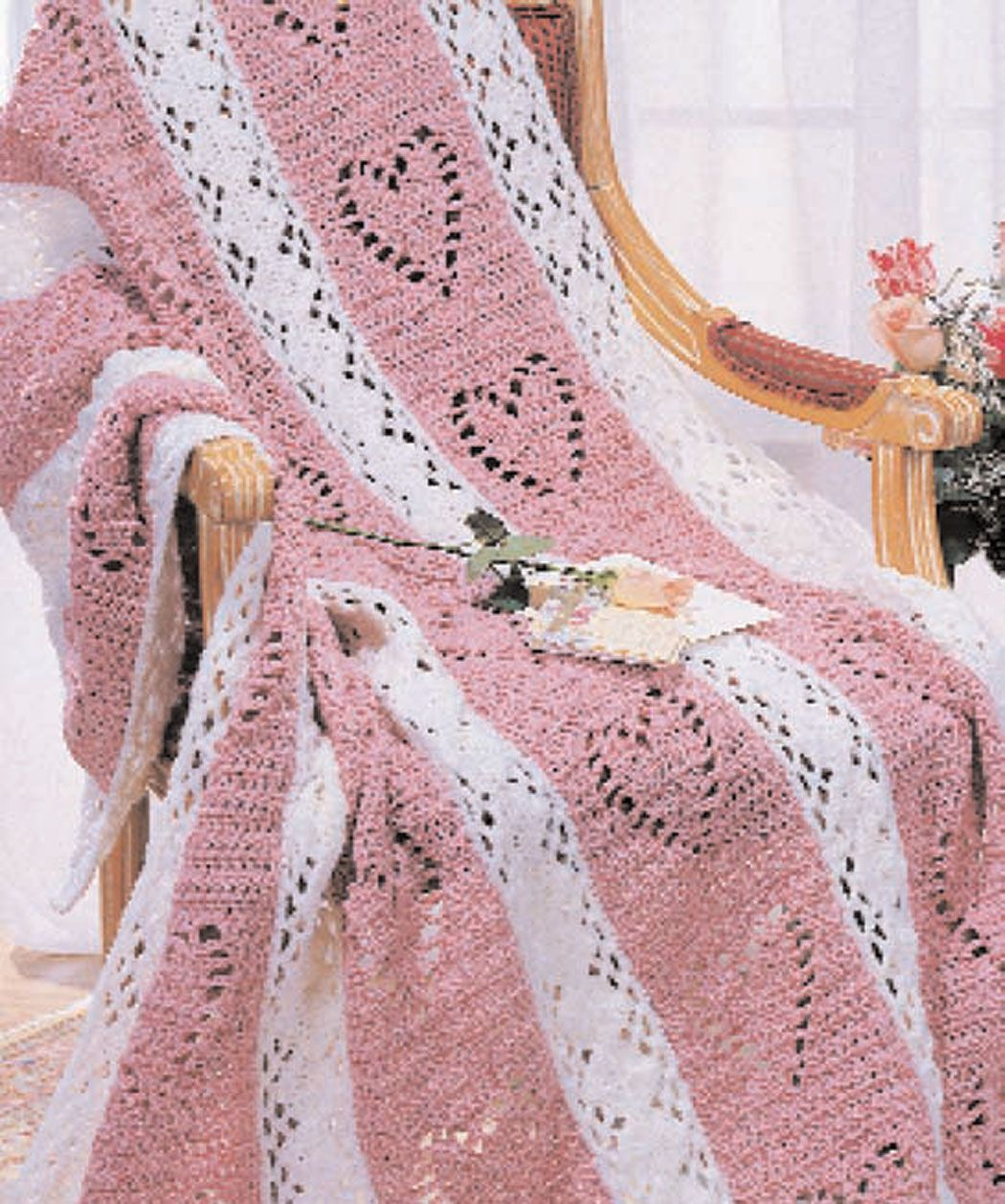 Hearts diamonds how pretty for a little girl or for a wedding hearts diamonds crochet afghan free pattern worsted weight yarn medium and us and us bankloansurffo Choice Image