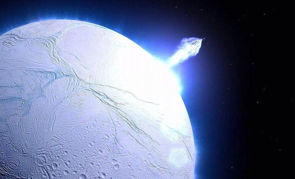 Twitter Bitacora Cosmos Imagen De Un Criovolcan Saturns Moons Astronomy Space Photography