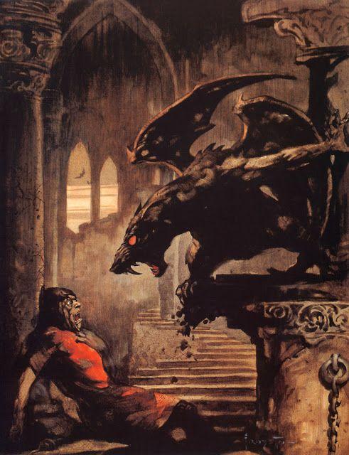 Gargoyle, by Franz Frazetta.