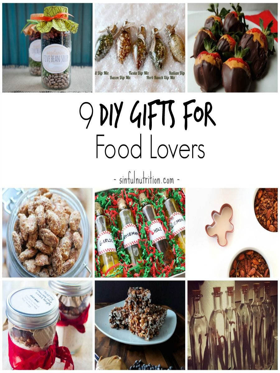 9 diy gift ideas for food lovers lovers gift and holidays 9 diy gift ideas for food lovers sinful nutrition forumfinder Gallery