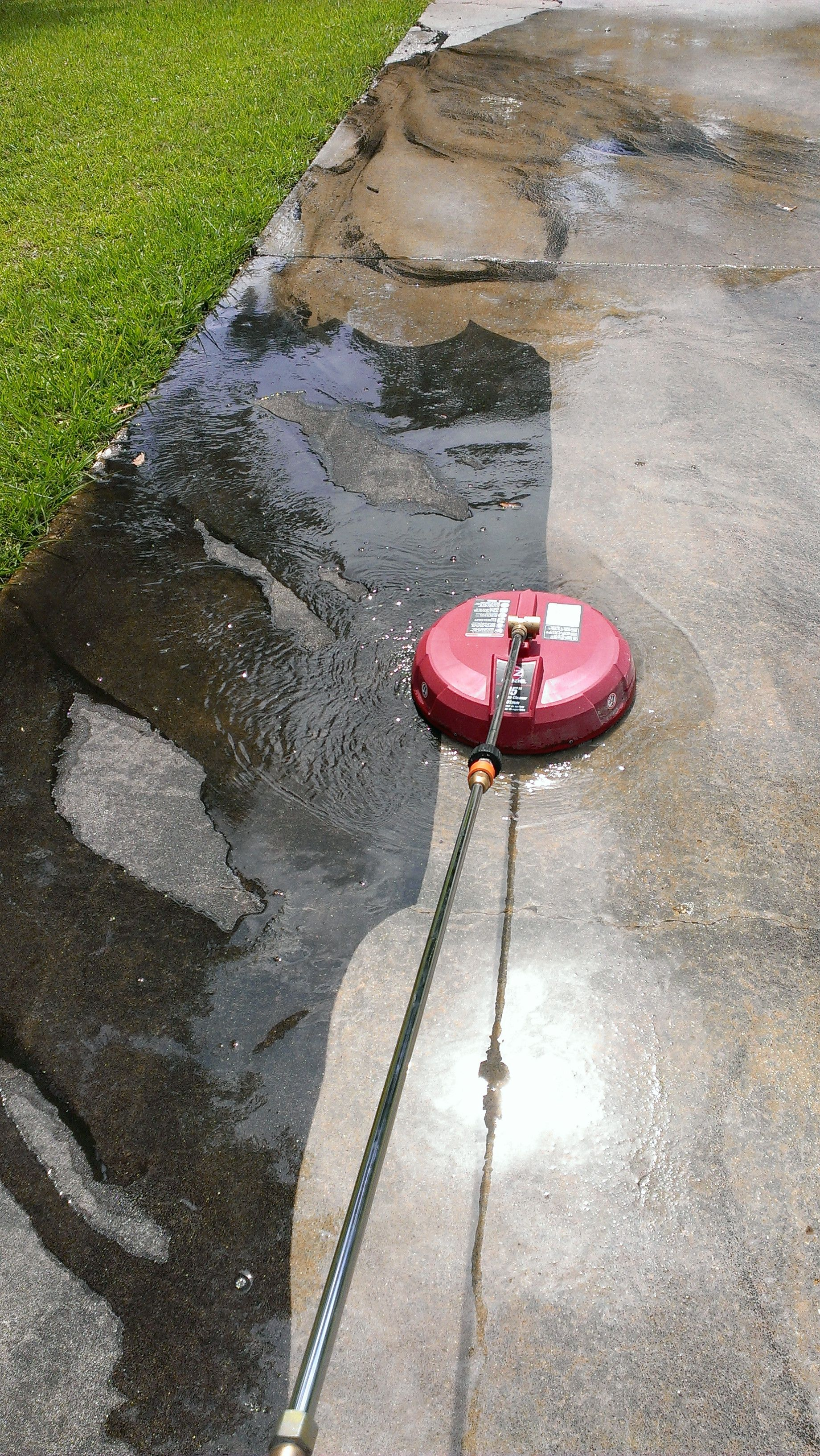 Wash Your Concrete Or Brick Driveway
