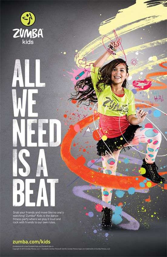 zumba is a fun way to get fit  the music selected for