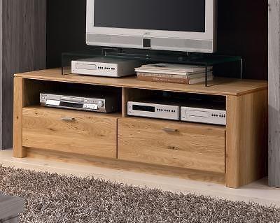 Top Lowboard Fernsehtisch Sideboard Tv Tisch Kommode Massiv In
