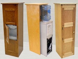 Water Cooler Cabinet Wood